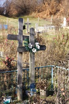 Free Orthodox Graveyard Stock Photography - 17337092