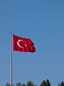Free Turkish Flag Stock Photos - 17337293