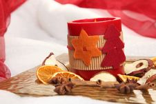 Free Candle Front View Stock Photo - 17337680