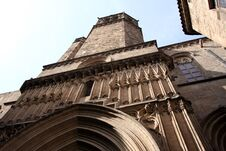 Free Barcelona.Fragment Of A Gothic Cathedral. Royalty Free Stock Images - 17337789