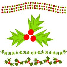 Free Christmas Chains Royalty Free Stock Images - 17338039