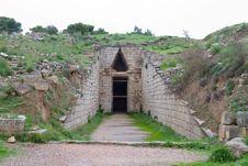 Klytemnestra Tholos Tomb, Mycenae Stock Photos