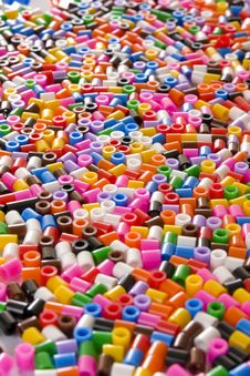 Free Colorful Bead Royalty Free Stock Photo - 17338175