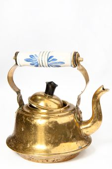 Free Old Teapot Stock Photo - 17338350