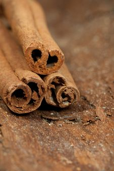 Cinnamon Pile Stock Images