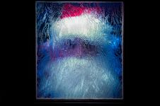 Free Santa Claus Behind The Glass Stock Photo - 17338420