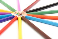 Free Color Pencils Royalty Free Stock Images - 17338609