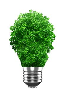 Free Green Bulb Royalty Free Stock Image - 17339196