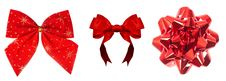 Free Red Bows Stock Photo - 17339640