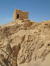 Free Watch Tower At Masada Stock Image - 17341751