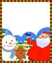 Free Christmas Frame Royalty Free Stock Photo - 17344345