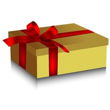 Free Gift Box Royalty Free Stock Photos - 17340098