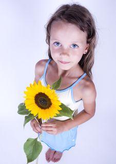 Free Little Girl Stock Photo - 17340330