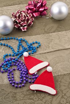 Free Fun Christmas Decorations Royalty Free Stock Photography - 17340477