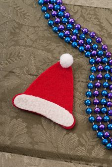 Christmas Santa Hat Decoration Stock Photos