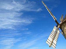 Free Windmill Sails Royalty Free Stock Image - 17340956