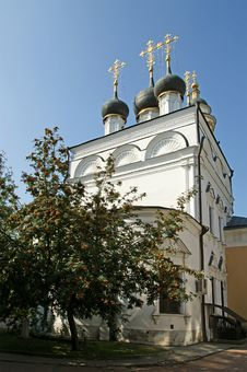 Church Of St. Nicholas In Pyzhah (1670),Moscow Stock Photos