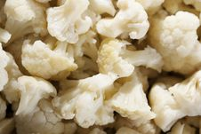 Cauliflower Ready To Cook Royalty Free Stock Photography