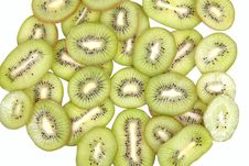 Free Kiwi Fruits Slices Stock Photos - 17341843