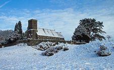Free Rusland Church After The Snows Stock Photos - 17341903