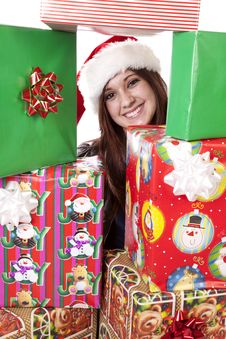 Free Middle Of Presents Stock Image - 17342071