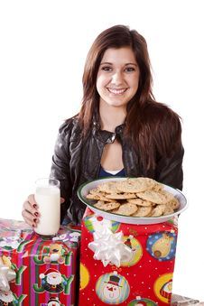 Free Presents Cookies Stock Photography - 17342142
