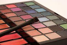 Free Makeup Palette Stock Photos - 17342273