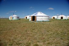 Free Yurt Camp In Mongolia Royalty Free Stock Photo - 17342395
