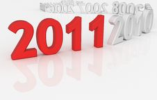 Free 2011 - Next Year Stock Photography - 17343242