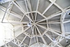 Architecture, Metal Roof Royalty Free Stock Photography