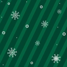 Free Christmas Background With Snowflakes. Vector Stock Photography - 17344172