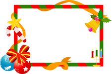 Free Christmas Frame Stock Images - 17344454