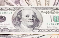 Free Dollar Banknotes, Money Background Stock Images - 17345304