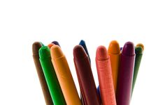 Free Color Pencils Stock Photography - 17345672