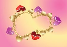 Free Bangle With Hearts Royalty Free Stock Images - 17346299