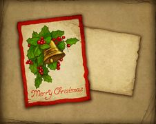 Free Christmas Greeting Card Stock Photography - 17347042