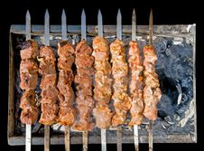Free Shashlik Stock Photography - 17347532