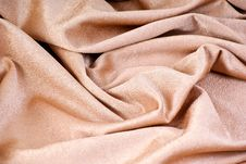 Free Golden Textile Royalty Free Stock Photography - 17347957