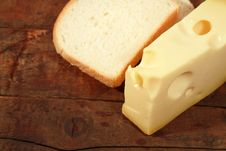 Free Cheese And Bread Stock Photography - 17349482