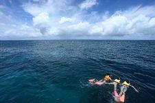 Free Snorkeling Royalty Free Stock Image - 17349916