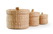 Free Wicker Boxes Stock Images - 17349944
