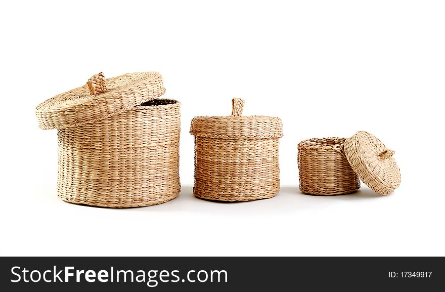 Wicker boxes
