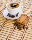 Free Cup Of Capuchino Royalty Free Stock Photography - 17354447