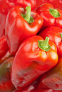 Free Red Horn Peppers Royalty Free Stock Photo - 17354695