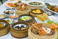 Free Assorted Dim Sum Stock Image - 17350021