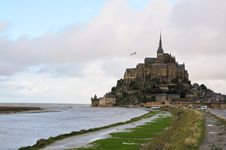 Free Mont Saint Michel Stock Photography - 17350802