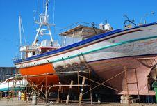 Free Shipyard, Paros, Greece Stock Photo - 17350840