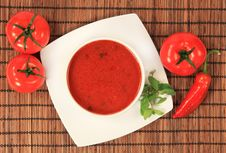 Free Vegetable Soup Royalty Free Stock Photography - 17350847