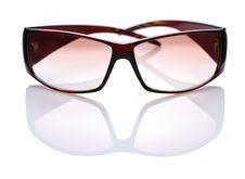 Brown Glasses Stock Image