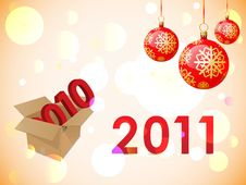 Free 2011 New Years Card Stock Photo - 17351600